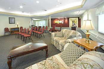 Faith Baptist Church common room - Commercial Design/Build Project - Faith Baptist Church