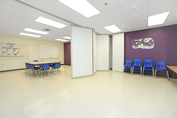 Faith Baptist Church divided room - Commercial Design/Build Project - Faith Baptist Church