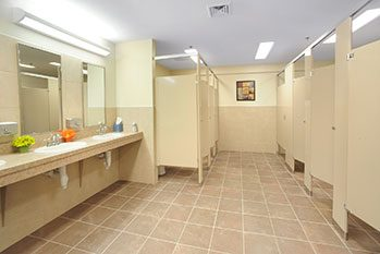 Faith Baptist Church restroom - Commercial Design/Build Project - Faith Baptist Church